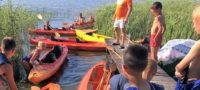 Jezioro Sarbsko – kajaki